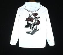 Весна/осень ручной цветы для мужчин ветровка 3 м Светоотражающая куртка повседневное хип хоп куртки