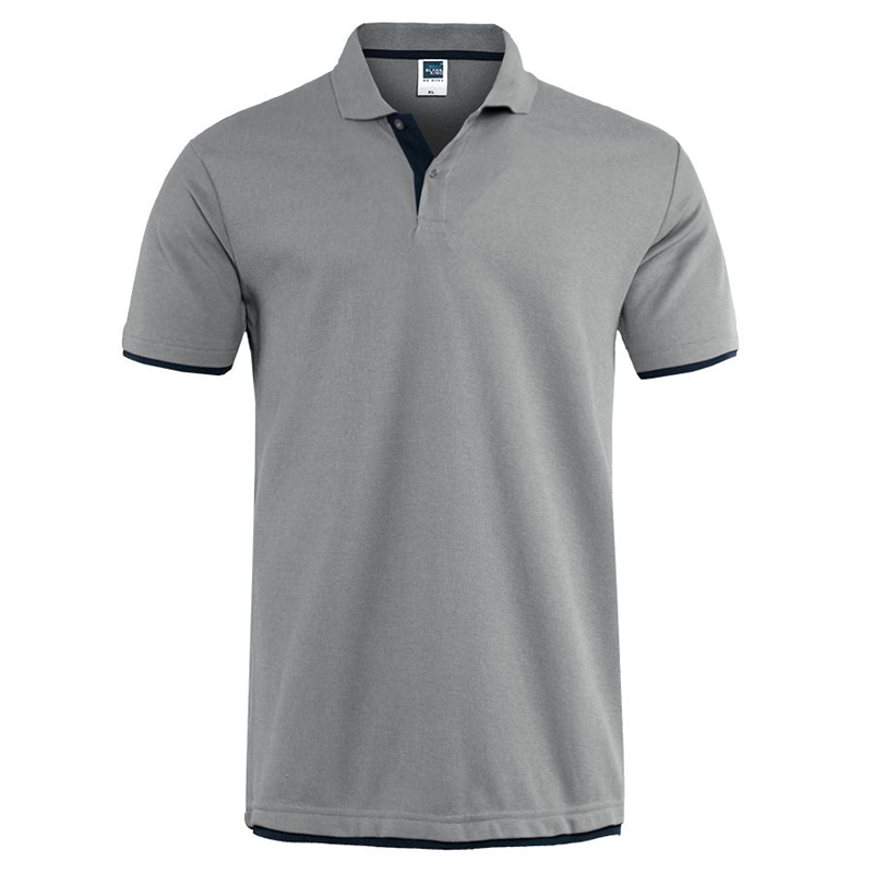 Men's T-shirt Summer Classic Cotton Short Sleeve Tee Shirt Mens Casual Solid T-Shirts Tops Men Business Golf T Shits Camisa Tops
