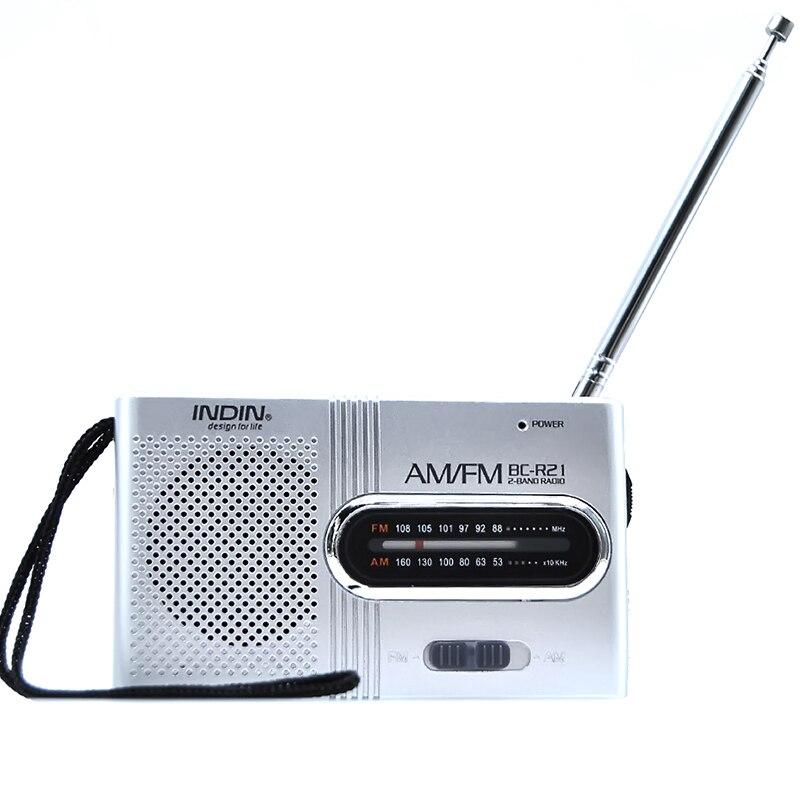 Radio ZuverläSsig Kainuoa Tragbare Fm Bc-r21 Mini Radio Tragbare Am Fm Teleskop Antenne Radio Welt Empfänger Lautsprecher Dc 3 V Mini Tasche Am Fm Tragbares Audio & Video