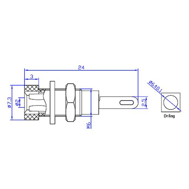 Areyourshop 5PCS 2mm Banana Socket Binding Posts Shrapnel Jack Terminals Test Probes Nickel-plated Brass Wholesale