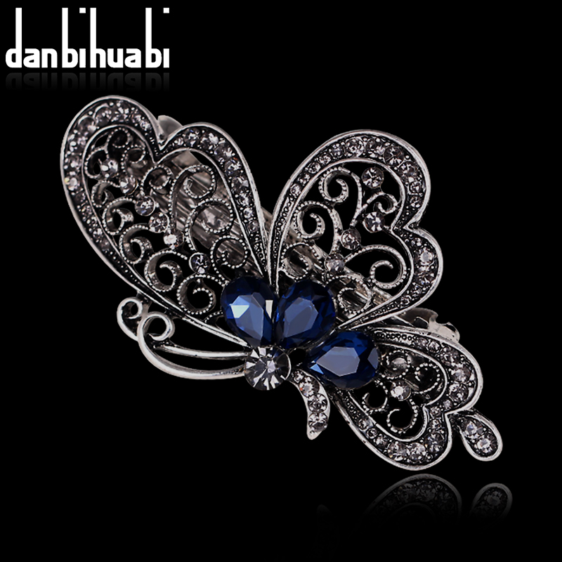 popular butterfly hair clip buy cheap butterfly hair clip lots