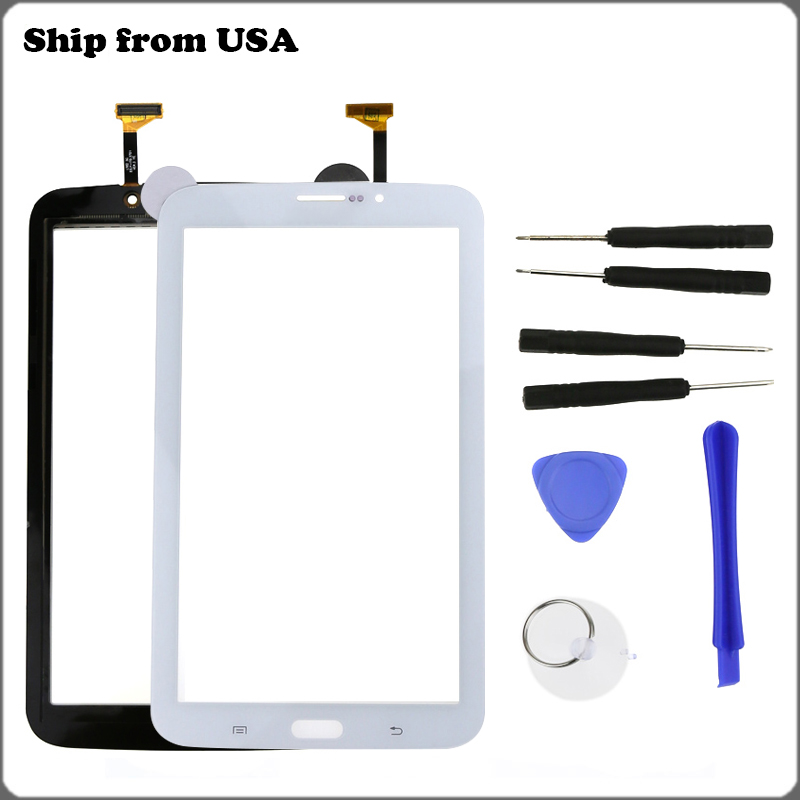 """Replacement Touch Screen Digitizer For Samsung Galaxy TAB 3 7.0"""" SM-T217S Black"""