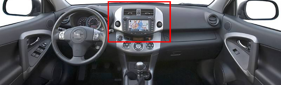 Discount Octa Core 7 inch 8 core Android 9.0 Car Radio DVD player GPS for for Toyota RAV4 2006-2012  gps 4G RAM 64G ROM stereo auto audio 0