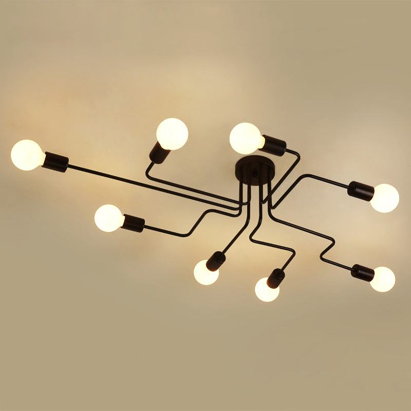 American country LED bedroom ceiling lights living room ceiling lighting Modern home fixtures illumination loft ceiling lampsAmerican country LED bedroom ceiling lights living room ceiling lighting Modern home fixtures illumination loft ceiling lamps