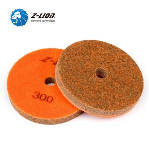 Image 5 - Z lion 4 inç 7 adet/takım sünger mermer 100mm elmas süngerleri parlatma ıslak kullanarak taş Buff granit mermer parlatma pedleri