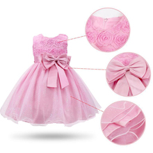 Girls Dresses For Party And Wedding 2-9 Years Birthday Gowns Flower Dress For Children's First Communion Casual Clothing Costume bbwowlin baby girl dresses for 0 2 years little girls birthday christmas first communion 9088