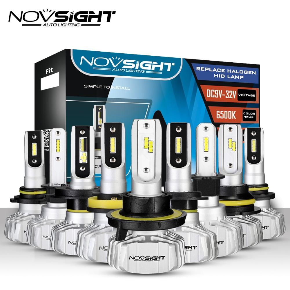 Nighteye 9005//HB3 50W 8000LM CSP LED Headlight Bulbs Kit DRL Car Fog Lamps 6500K