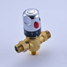 Wholesale and Retail New Brass Control the Mixing Water Temperature Thermostatic Mixing Valve