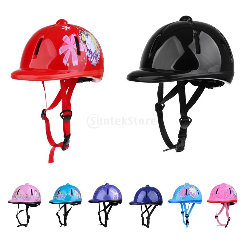 Children Kids Adjustable Horse Riding Hat Helmet Head Protective Gear Equestrain Safety Hat Various Colors Horse Riding Hat Head Protectionhorse Riding Aliexpress