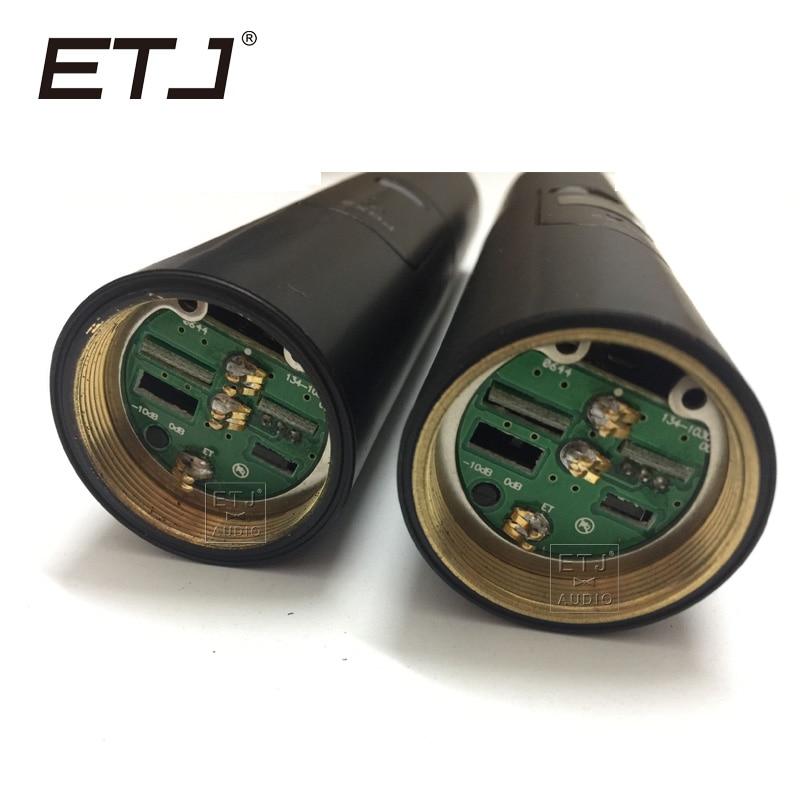 Free shipping ETJ Brand SLX2 PGX2 FOR SLX24 PGX24 UHF Wireless Microphone for SLX PGX Handheld