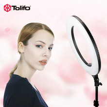 Tolifo R48B 48W Bi-color 2.4G Wireless Remote Control Dimmable Camera/Video/Photography LED Ring Light Two Power Supply Modes(China)