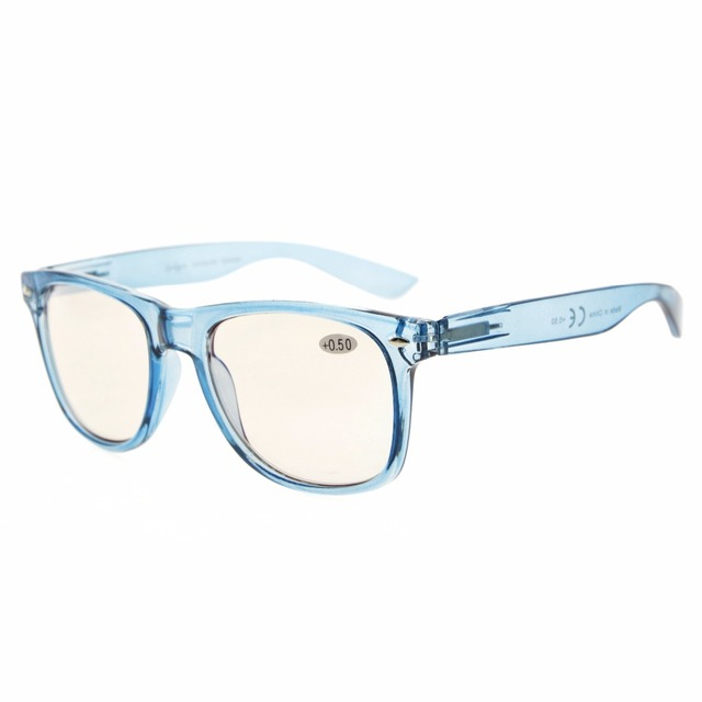 29b899c9f4 CG133 Eyekepper Blue Light Blocking Eyeglasses Digital Eye Strain  Prevention Large Simple Computer Reading Glasses +0.00~+4.00