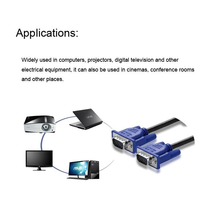 1,5 Mt vga kabel zu verbinden die host computer monitor videokabel ...