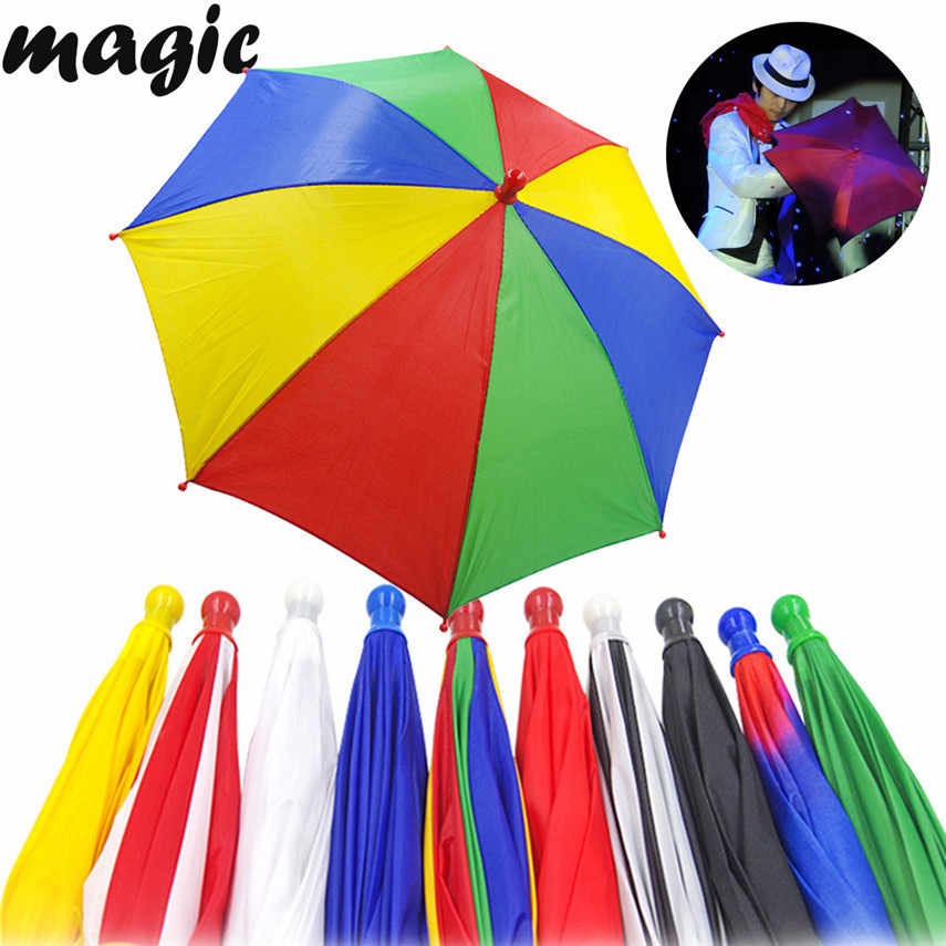 2018 Tops Quality 40cm Magic Umbrella Magic Tricks Gimmick Prop Accessories Comedy Vanishing Stage Gift Free Shipping juguete X*