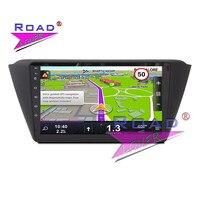 TOPNAVI Android 6 0 2G 32GB Quad Core Car Head Unit GPS Navigation For Skoda Fabia