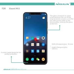 Image 5 - For Xiaomi Mi 8 Tempered Glass Screen Protector Nillkin Amazing H+Pro H Anti Explosion Glass film For Xiaomi Mi 8 Pro Explorer