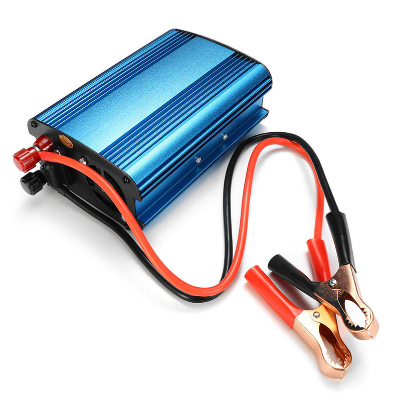 12V/24V to 220V 3000W/4000W Car Power Inverter Sine Wave USB Converter For Home Appliances