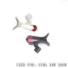 Support de téléphone Pour Syma X8w X8hw Cellulaire Téléphone Titulaire Quadcopter Kits Rc Drone Pièces De Rechange Hélicoptère Pièces Accessoires