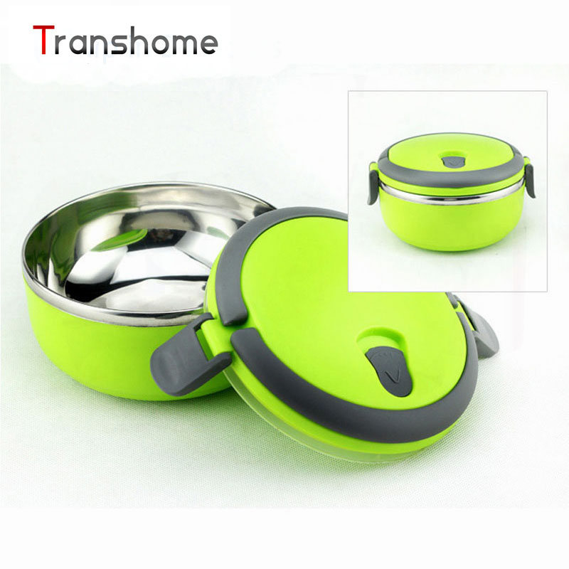 Transhome Stainless Steel Thermal Bento Lunch Box Thermos