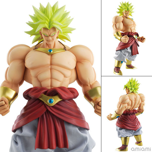 ФОТО 25cm High Quality Dragon Ball Model Legendary Super Saiyan Brolly Action Figure