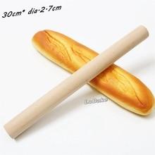 Последние 30 см длина 2,7 см диаметр schima superba деревянная скалка для теста инструмент для прессования пельменей производитель для кухонных принадлежностей