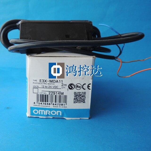 New Omron Fiber Amplifier E3X-MDA11