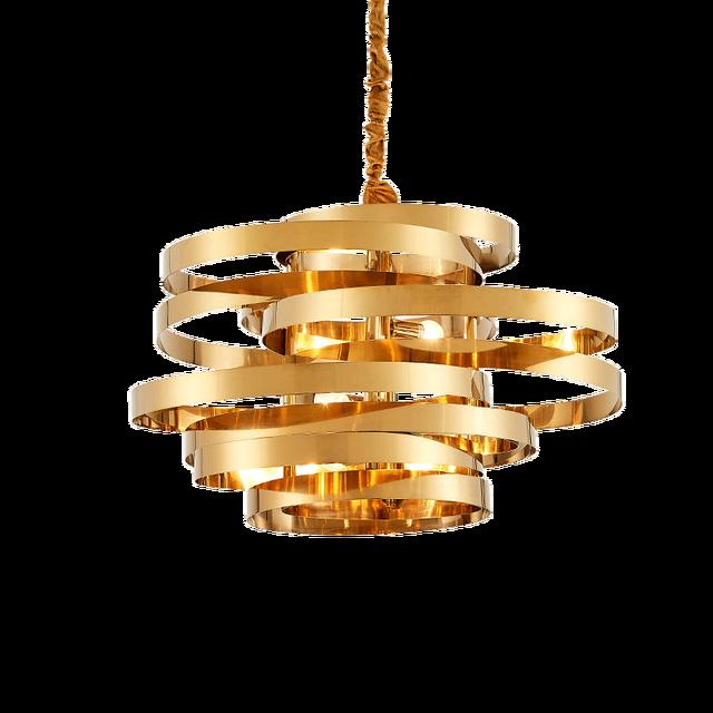 round light fixture surface mounted vintage gold round led pendant lamp lighting fixture vertigo modern lustre pendant lights for dining room