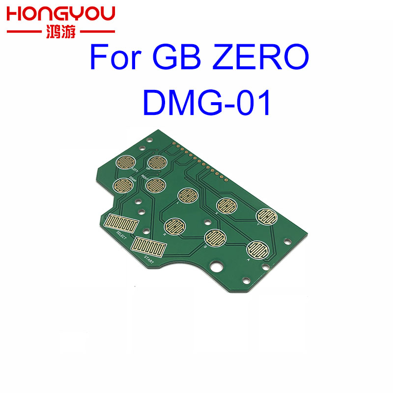 For Nintendo Game Boy Zero DMG-01 Button Pcb Motherboard Controller Card Common Ground For Raspberry Pi сабвуфер ground zero gziw 250x