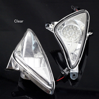 For YAMAHA TMAX T MAX T MAX 500 2001 2007 Motorcycle Front LED Turn Signal Indicator Light Blinker Lamp Clear Smoke