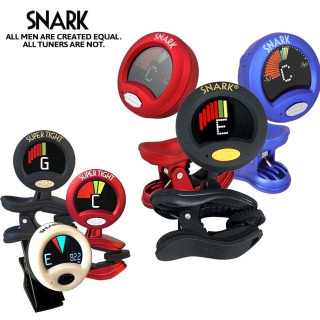 Snark Tuner All Music Instrument Clip-on Chromatic Fast Tuner for Guitar Bass Violin Ukulele Cello Piano, 12 Models Available