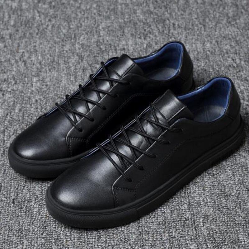 2018 Män Solid Color Casual Sneakers Skor, Andas Vattentät - Herrskor - Foto 4