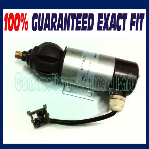 Fast free shipping, Fuel Shutdown Solenoid 81151144,872805,1318039,1318042 28V for PERKINS, VOLVO PENTA 3pc fuel stop solenoid u85206452 for perkins 400 series engines 12v fast free shipping