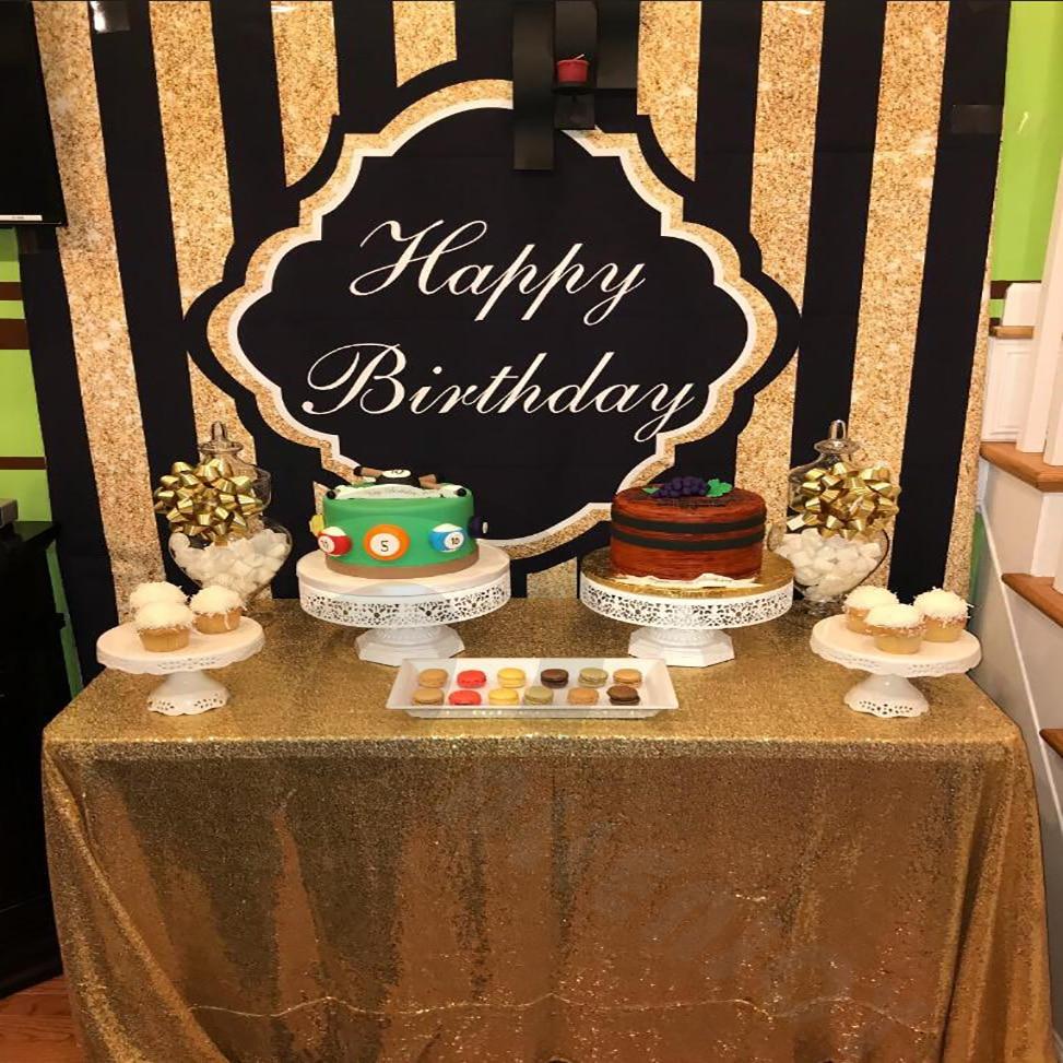 Allenjoy Fotohintergrund Shiny Party Hintergrund goldenen schwarzen - Kamera und Foto