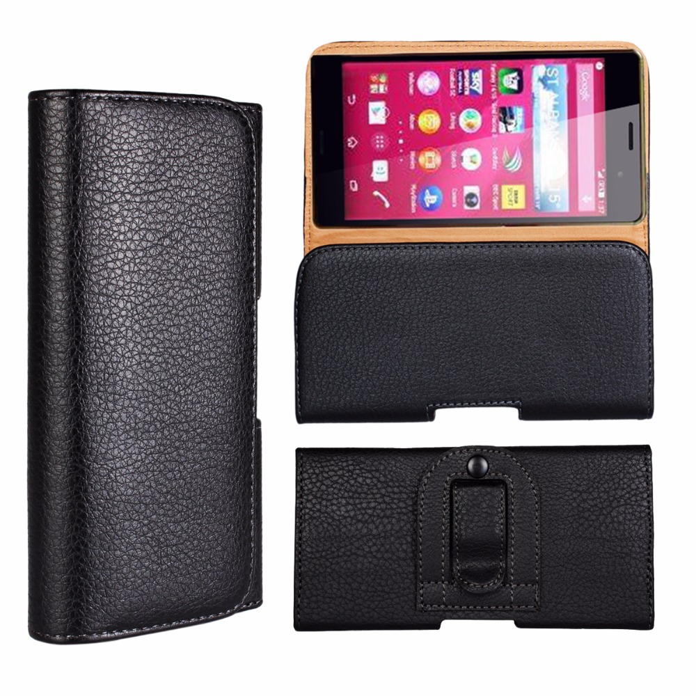 Leather Pouch Holster Belt Clip Case Holder For Nokia 3120 3200 6820 7500 Prism 6500 Classic N900 For Nokia T7-00 T7 Bag image