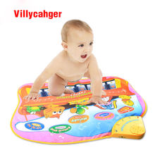 72X58cm big size baby play musical mat baby Learning mat electric toy educational toy 8812NC(China)