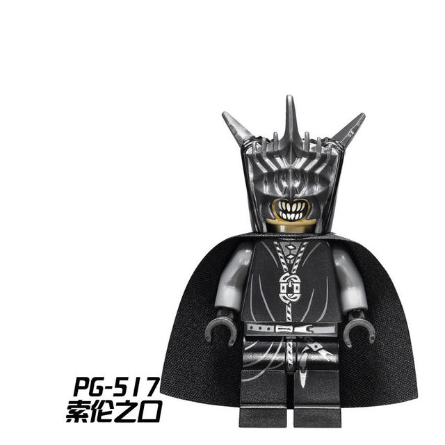 5232124565cd0 US $0.9 |Single Sale PG517 Mouth of Sauron Building Blocks Toys for  Children Legoing Lord of the Rings the Hobbit Legoings Figures Bricks-in  Blocks ...
