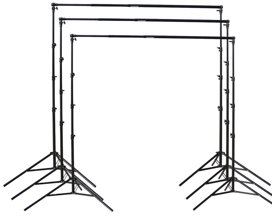 Photo Studio Video All Metal Backdrop Stand Heavy Duty Background Support Kit 2*2m 2.8*3m  2.8*4m