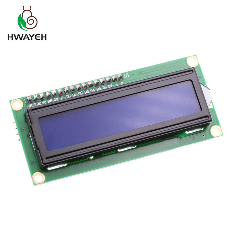 LCD1602+I2C LCD 1602 Module Blue/Green Screen PCF8574 IIC/I2C LCD1602 Adapter Plate