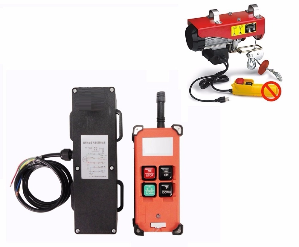 Wireless Remote Control For PA mini electric hoist PA hoist 500KG ...