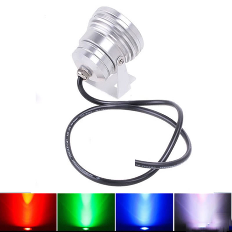 SPLEVISI 1000LM 10W  LED Ground Light 12V DC Cool  Warm White IP65 Waterproof Flood Lamp Lighting splevisi  5w cob led outdoor waterproof