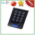 new design touch screen keypad 125khz em-id smart card access control rfid reader