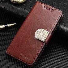 Кожаный чехол-портмоне с застежкой и бумажником чехол для microsoft Nokia Lumia 630 635 640 720 730 735 435 530 520 540 625 430 чехол-подставка для телефона