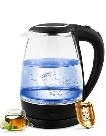 Glass electric kettle Boiler stainless steel household automatic power outage large capacity Overheat Protection