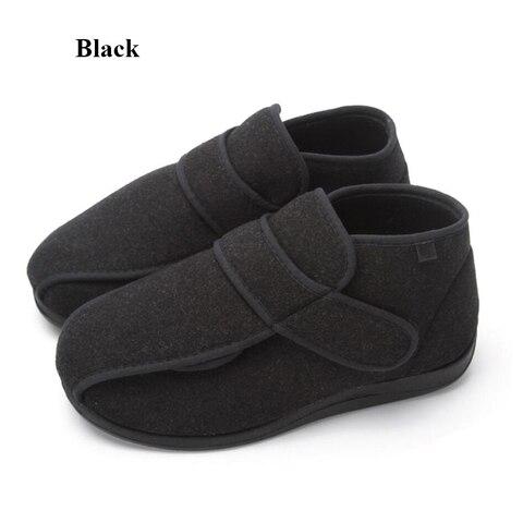 alta qualidade pe largo inchado sapatos masculinos