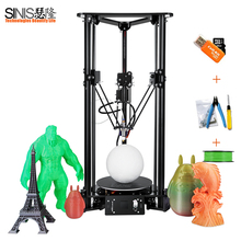 Sinis Tech T1 3d Printer i3 Aluminum and Acrylic Frame  the height of printing Size 320MM with SD Card & 10M Filament