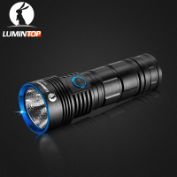 LUMINTOP Rechargeable High Intensity Flashlight ODF30C Floodlight Design Max 3500 Lumens IP68 Waterproof for Hiking ,Ride