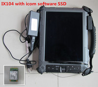 For Bmw Icom Software Mini SSD With Laptop Xplore IX104 Tablet PC Win7 Expert Mode 2017