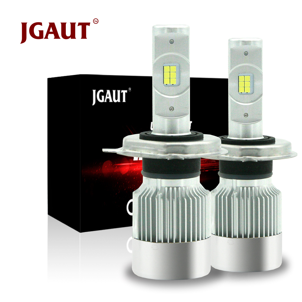 JGAUT Mini H4 Led moto De Voiture LED Phare CSP H7 H1 H3 H11 880 9005 9006 Turbo 8600lm Auto Ampoule automobile Projecteur