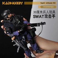 NEW 1/6 Scale Military Solider Figure Toys Set Collectable US Swat Team Model DIY Clothes Doll Action Figure Gun Toy for Boys