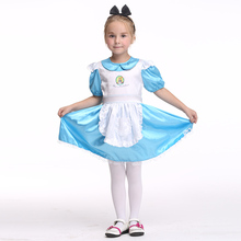 Girls Party Princess Dress Kids Cosplay Children Dance Clothes Clothing Maid Halloween Costume EK165 halloween costumes for girls princess dress kids vampire clothes cosplay bat set for party outfit boys costume children clothing